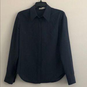 Calvin Klein Collection Button-Down Long-Sleeve